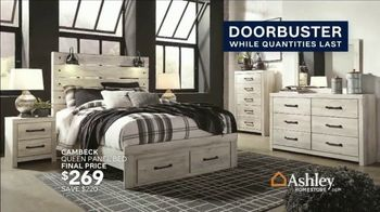 Ashley HomeStore Grand Reopening Event TV Spot, 'Living Room, Dining Room and Bedroom' - Thumbnail 8