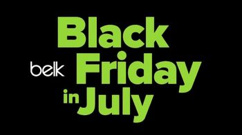 Belk Black Friday in July TV Spot, 'Your Favorite Brands' Song by Halfmoon Sons