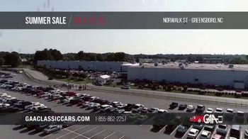 GAA Classic Cars Auction Summer Sale TV Spot, '2020 Greensboro' - Thumbnail 1