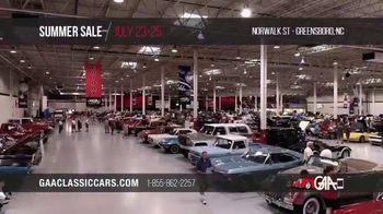 GAA Classic Cars Auction Summer Sale TV Spot, '2020 Greensboro' - Thumbnail 10