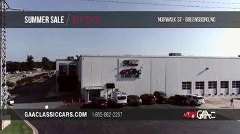 GAA Classic Cars Auction Summer Sale TV Spot, '2020 Greensboro' - Thumbnail 2