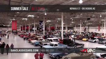 GAA Classic Cars Auction Summer Sale TV Spot, '2020 Greensboro' - Thumbnail 3