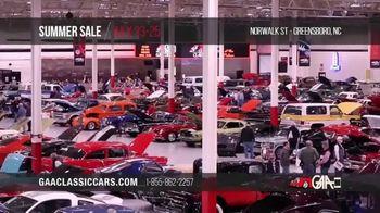 GAA Classic Cars Auction Summer Sale TV Spot, '2020 Greensboro' - Thumbnail 4