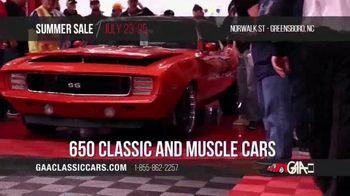 GAA Classic Cars Auction Summer Sale TV Spot, '2020 Greensboro' - Thumbnail 5