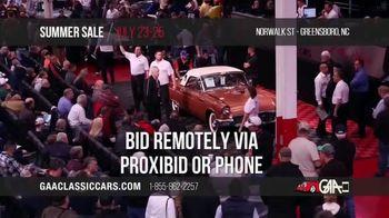 GAA Classic Cars Auction Summer Sale TV Spot, '2020 Greensboro' - Thumbnail 7