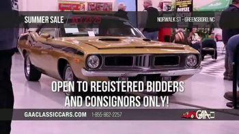GAA Classic Cars Auction Summer Sale TV Spot, '2020 Greensboro' - Thumbnail 9