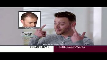 Hair Club TV Spot, 'Balding?' Featuring Forrest Griffin