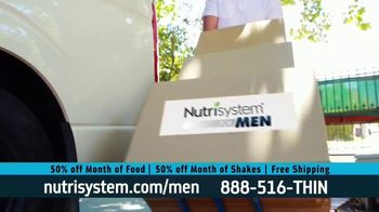 Nutrisystem 50/50 Deal TV Spot, 'Doorbell: 50 Percent Off Food and Shakes' - Thumbnail 5