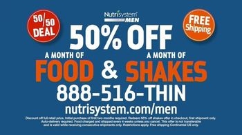 Nutrisystem 50/50 Deal TV Spot, 'Doorbell: 50 Percent Off Food and Shakes' - Thumbnail 6