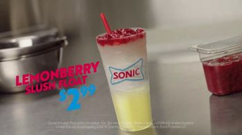 Sonic Drive-In Lemonberry Slush Float TV Spot, 'Chug Master' - Thumbnail 8