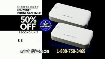 Sharper Image UV-Zone Phone Sanitizer TV Spot, 'Don't Let Bacteria Harm You' - Thumbnail 10