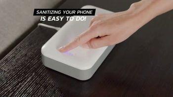 Sharper Image UV-Zone Phone Sanitizer TV Spot, 'Don't Let Bacteria Harm You' - Thumbnail 2