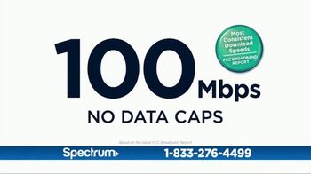 Spectrum Internet + TV TV Spot, 'Family Hub: 100 Mbps' - Thumbnail 4