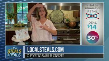 Local Steals & Deals TV Spot, 'Wrinkles Schminkles' Featuring Lisa Robertson - Thumbnail 9