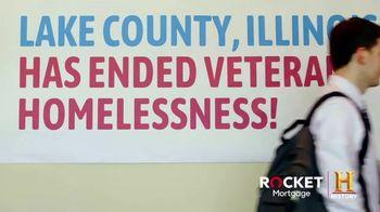 Rocket Mortgage TV Spot, 'Built for Zero: Ending Veteran Homelessness' - Thumbnail 3