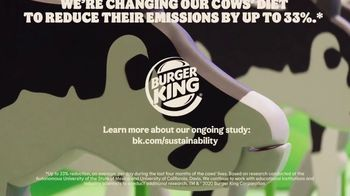 Burger King TV Spot, 'Cow Farts & Burps' - Thumbnail 10