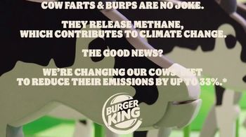 Burger King TV Spot, 'Cow Farts & Burps' - Thumbnail 7