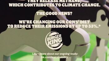 Burger King TV Spot, 'Cow Farts & Burps' - Thumbnail 8