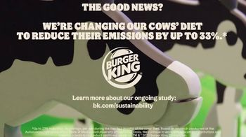 Burger King TV Spot, 'Cow Farts & Burps'