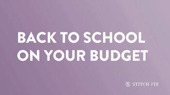 Stitch Fix TV Spot, 'Back to School' - Thumbnail 1