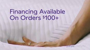 Purple Mattress Summer Sale TV Spot, 'Sleep Cool: Free Sheets & Plush Pillow' - Thumbnail 8