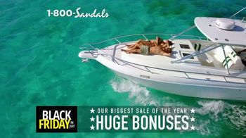 Sandals Resorts Black Friday in July TV Spot, 'Huge Bonuses' - Thumbnail 2
