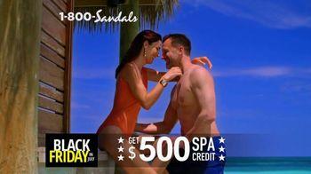 Sandals Resorts Black Friday in July TV Spot, 'Huge Bonuses'