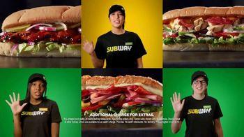 Subway $5 Footlong TV Spot, 'Any Footlong' Featuring Charlie Puth - Thumbnail 3