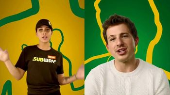 Subway $5 Footlong TV Spot, 'Any Footlong' Featuring Charlie Puth