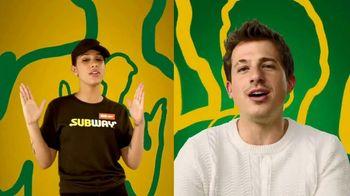 Subway $5 Footlong TV Spot, 'Any Footlong' Featuring Charlie Puth - Thumbnail 5