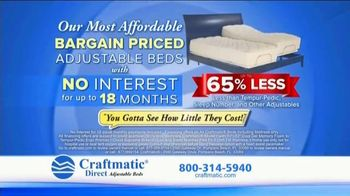 Craftmatic TV Spot, 'Most Affordable Bargain Priced' - Thumbnail 10