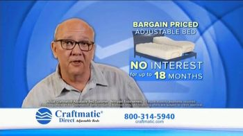 Craftmatic TV Spot, 'Most Affordable Bargain Priced'