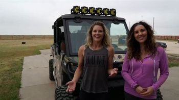 Can-Am TV Spot, 'Off-Road Livin' Texas Hunt' Featuring Kristy Lee Cook, Katie Austin