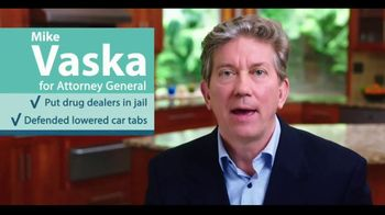 Vaska for AG (GOP) TV Spot, 'Losing Control' - Thumbnail 6