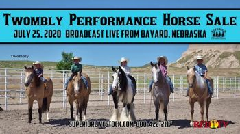 Superior Livestock Auction TV Spot, 'Twombly Performance Horse Sale' - Thumbnail 1
