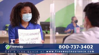 Freeway Insurance TV Spot, 'Social Distancing' - Thumbnail 3