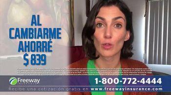 Freeway Insurance TV Spot, 'Ahorra hasta $839 dólares' [Spanish] - Thumbnail 3