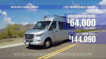 La Mesa RV TV Spot, '2020 Winnebago Boldt' - Thumbnail 7