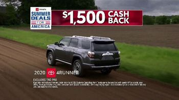 Toyota Summer Deals for America Event TV Spot, 'Adventures' [T2] - Thumbnail 4