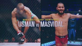 ESPN+ TV Spot, 'UFC 251: Usman vs. Masvidal' Song by Vince Staples - 843 commercial airings