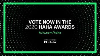 Hulu TV Spot, '2020 HAHA Awards: Archer' - Thumbnail 7