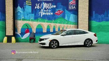 2019 Honda Civic TV Spot, 'Life Is Better: Wonderland' [T2]