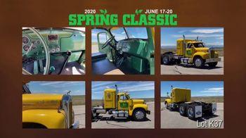 Mecum Gone Farmin' TV Spot, '2020 Spring Classic: Davenport: 1962 Mack Truck Tractor'