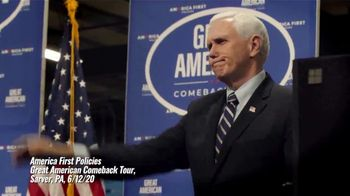 America First Policies TV Spot, 'America Back to Work'