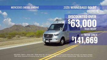 La Mesa RV TV Spot, 'Think: 2020 Winnebago Boldt' - Thumbnail 4