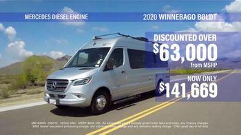 La Mesa RV TV Spot, 'Think: 2020 Winnebago Boldt' - Thumbnail 5