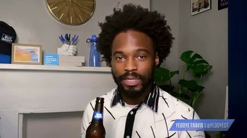 Bud Light TV Spot, 'Toast to the Everyday: Midday Naps' Featuring Yedoye Travis