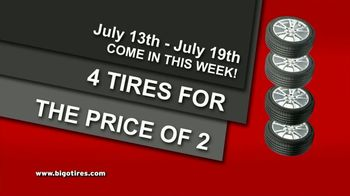 Big O Tires Buy Two Tires, Get Two Free Sale TV Spot, 'Four Tires for the Price of Two: No Date' - Thumbnail 7