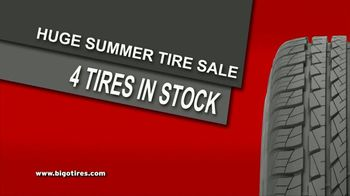 Big O Tires Buy Two Tires, Get Two Free Sale TV Spot, 'Four Tires for the Price of Two: No Date' - Thumbnail 3