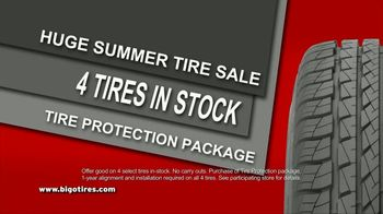Big O Tires Buy Two Tires, Get Two Free Sale TV Spot, 'Four Tires for the Price of Two: No Date' - Thumbnail 4